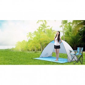 Keumer Tenda Camping Automatic Open Anti UV Shelter - ZP03 - Gray - 6