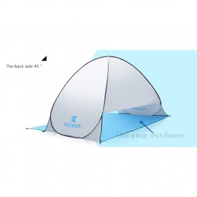 Keumer Tenda Camping Automatic Open Anti UV Shelter - ZP03 - Gray - 9
