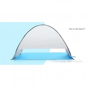 Keumer Tenda Camping Automatic Open Anti UV Shelter - ZP03 - Gray - 10