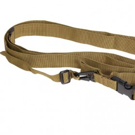 Sling Strap Senjata Airsoft Hunting Belt Tactical Military - Black - 3