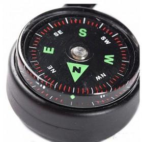 Carabiner Multifungsi dengan Kompas Thermometer - D12605 - Army Green - 6