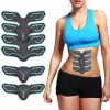 Fitness & Yoga - Alat Stimulator Otot Six Pack EMS Trainer ABS Abdominal Muscle - Black