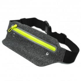 Tas Pinggang Olahraga Running Waist Bag Sports Belt - SWB - Gray