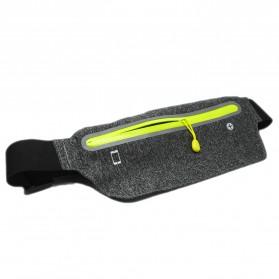 Tas Pinggang Olahraga Running Waist Bag Sports Belt - SWB - Gray - 2