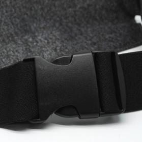 Tas Pinggang Olahraga Running Waist Bag Sports Belt - SWB - Gray - 5