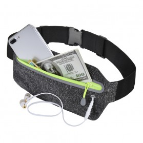 Tas Pinggang Olahraga Running Waist Bag Sports Belt - SWB - Gray - 6