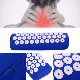 Matras Yoga ABS Spike Akupuntur Needle Pad Massage Cushion 2 in 1 - Blue - 5