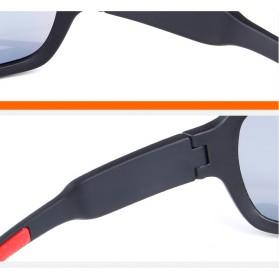 POC Kacamata Sepeda Polarized Sunglasses UV400 dengan 5 Lensa - TR-90 - Black - 3