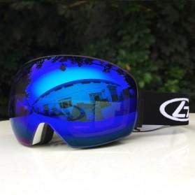 Kacamata Goggles Ski Outdoor Dustproof UV Protection - H018 - Silver - 2