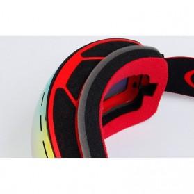 Kacamata Goggles Ski Outdoor Dustproof UV Protection - H018 - Silver - 6