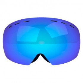 Kacamata Goggles Ski Outdoor Dustproof UV Protection - H018 - Silver - 8
