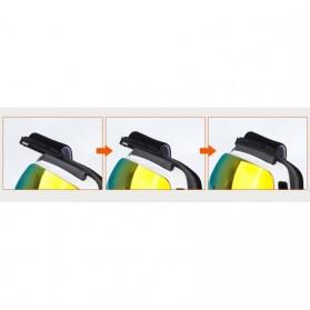Kacamata Goggles Ski Outdoor Dustproof UV Protection - H018 - Silver - 9
