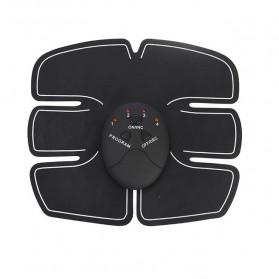 Alat Stimulator EMS Otot Six Pack Abdominal Muscle Exercise - 008 - Black - 2