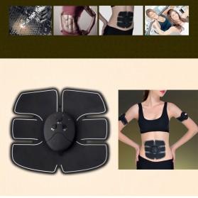 Alat Stimulator EMS Otot Six Pack Abdominal Muscle Exercise - 008 - Black - 3