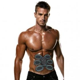 Alat Stimulator EMS Otot Six Pack Abdominal Muscle Exercise - 008 - Black - 5