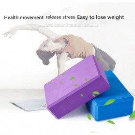 Balok Yoga Block Fitness Brick EVA -  DJF - Black - 6