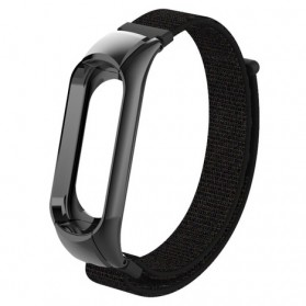 Strap Watchband Nylon for Xiaomi Mi Band 3 - CBXM301 - Black