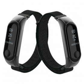 Strap Watchband Nylon for Xiaomi Mi Band 3 - CBXM301 - Black - 2