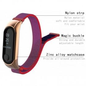 Strap Watchband Nylon for Xiaomi Mi Band 3 - CBXM301 - Black - 7
