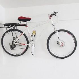 Gantungan Dinding Sepeda Bike Wall Hook Hanger Model Owl - SR-BMH1011 - Black - 2