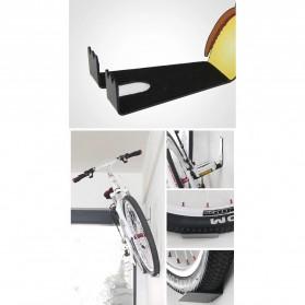 Gantungan Dinding Sepeda Bike Wall Hook Hanger Model Owl - SR-BMH1011 - Black - 4