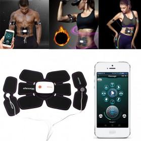 Alat Stimulator Otot Six Pack EMS Trainer ABS Abdominal Muscle - 4178 - Black
