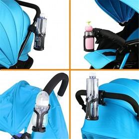 Hengtu Holder Tempat Minum Sepeda Trolley Bottle Bracket Cage - BBR14 - Black - 6