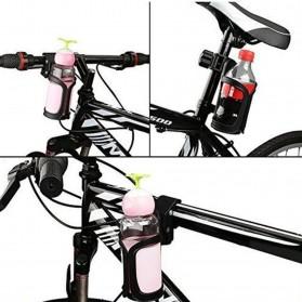 Hengtu Holder Tempat Minum Sepeda Trolley Bottle Bracket Cage - BBR14 - Black - 7