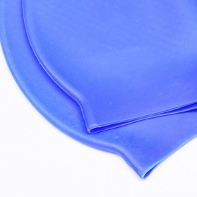 XINNEIKEEA Topi Renang Silicone Swimming Cap - XLK-241 - Black - 4