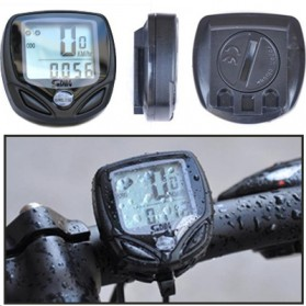 Speedometer Sepeda Wireless Display LCD - SD-548C - Black