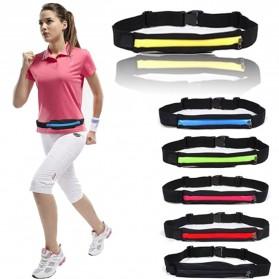 FERRINO Single Bag Sport Waterproof Waist Pack Length 20cm - SB01 - Black/Red