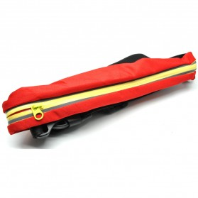 FERRINO Double Bag Sport Waterproof Waist Pack Length 48cm - TB01 - Red/Yellow