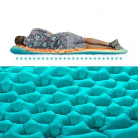 Naturehike Kasur Matras Angin untuk Sleeping Bag - NH17T024-T - Blue - 5