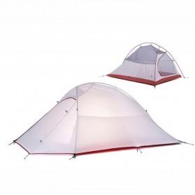 NatureHike CloudUp Tenda Camping Ultralight Hiking Tent - NH15T002 - Gray