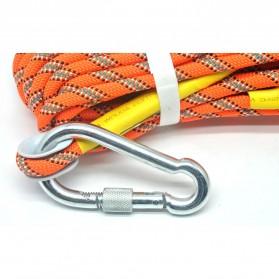 NTR Tali rappelling Safety Climbing Rope 10 Meter - E203950 - Orange - 3