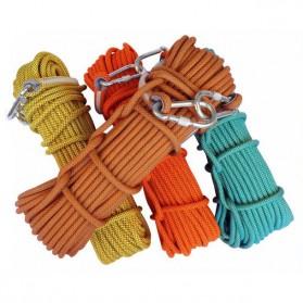 NTR Tali rappelling Safety Climbing Rope 10 Meter - E203950 - Orange - 6