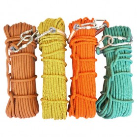 NTR Tali rappelling Safety Climbing Rope 10 Meter - E203950 - Orange - 7