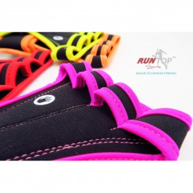 Runtop Sarung Tangan Gym Weight Lifting Glove Support Size M - Rt-009 - Blue - 3