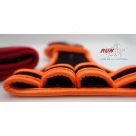 Runtop Sarung Tangan Gym Weight Lifting Glove Support Size M - Rt-009 - Blue - 4