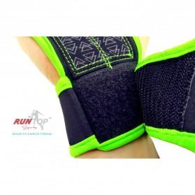 Runtop Sarung Tangan Gym Weight Lifting Glove Support Size M - Rt-009 - Blue - 6