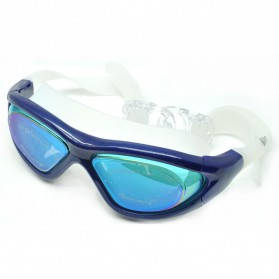 Olahraga Renang & Diving - Ruihe Kacamata Renang Big Frame Anti Fog UV Protection - RH9110 - Blue