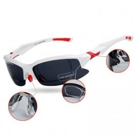 Obaolay Kacamata Sepeda Polarized Sunglasses UV400 - SP0879 - Black - 2