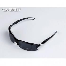 Obaolay Kacamata Sepeda Polarized Sunglasses UV400 - SP0879 - Black - 3