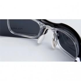 Obaolay Kacamata Sepeda Polarized Sunglasses UV400 - SP0879 - Black - 8
