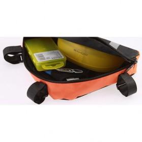 Roswheel Tas Sepeda Segitiga - 12490 - Orange - 4
