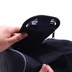 Roswheel Tas Sepeda Waterproof dengan Case Smartphone - ROS12813 - Black - 5