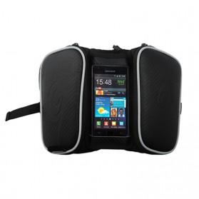 Roswheel Tas Sepeda Waterproof dengan Case Smartphone - ROS12813 - Black - 6