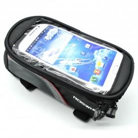 Roswheel Tas Sepeda Waterproof untuk 4.8 inch Smartphone - 12496 - Black - 3