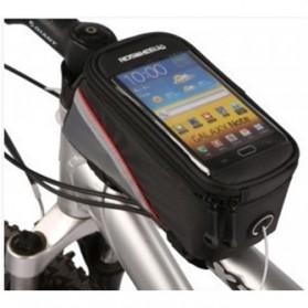 Roswheel Tas Sepeda Waterproof untuk 4.8 inch Smartphone - 12496 - Black - 5