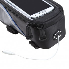 Roswheel Tas Sepeda Waterproof untuk 4.8 inch Smartphone - 12496 - Black - 10